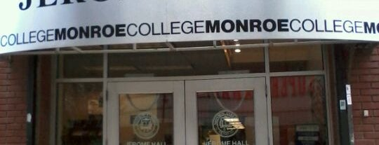 Monroe College is one of Bronx Museum Spots.