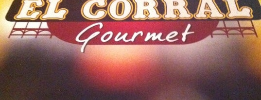 El Corral Gourmet is one of Top picks for Burger Joints.