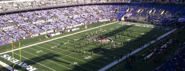M&T Bank Stadium is one of Great Sport Locations Across United States.