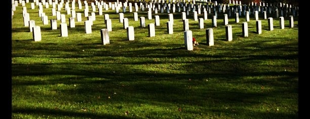 Gettysburg National Cemetery is one of Paranormal Traveler.