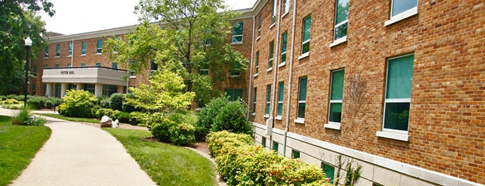 Potter Hall is one of Campus Tour.