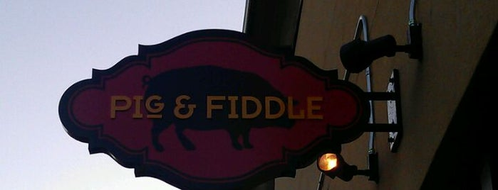 Pig & Fiddle is one of Dining spots.