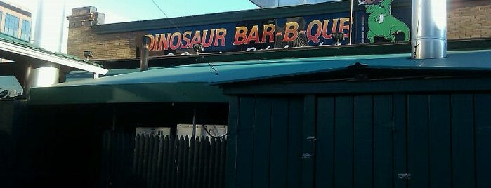 Dinosaur Bar-B-Que is one of Rochester's Take on the Chicken Wing.