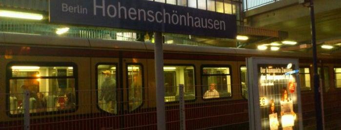 Bahnhof Berlin-Hohenschönhausen is one of Besuchte Berliner Bahnhöfe.