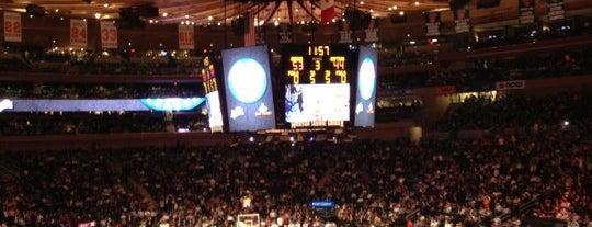 Madison Square Garden is one of Mis lugares más queridos !.