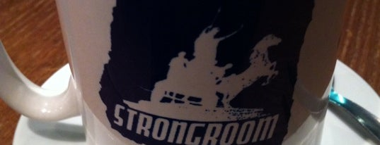 Strongroom Bar is one of Eating with Songkick.