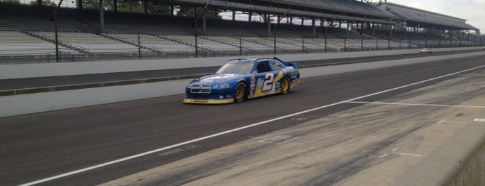 Indianapolis Motor Speedway is one of Best Nascar Race Car Tracks.