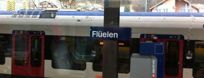 Bahnhof Flüelen is one of Bahnhöfe.