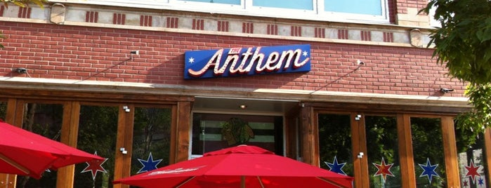 The Anthem is one of Chicagoist's Top Burger List.