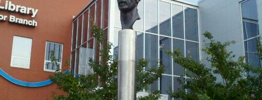 Frank Zappa Statue is one of Baltimore.