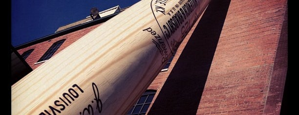 Louisville Slugger Museum & Factory is one of Louisville.