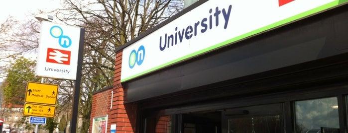 University Railway Station (UNI) is one of Terminais!.