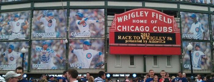 Wrigley Field is one of Recommendations in Chicago.