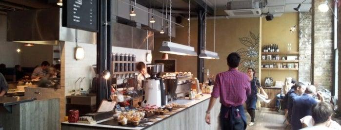 Ozone Coffee Roasters is one of London's Best Coffee - 2013.