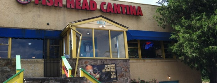 Fish Head Cantina is one of bars.