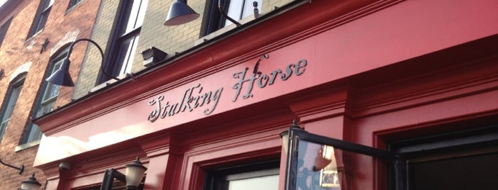 The Stalking Horse Tavern is one of B-More's finest! Best of Baltimore! #visitUS.