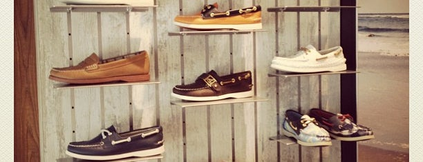 Sperry Top-Sider Store is one of NYC.