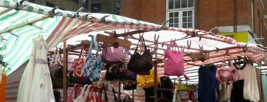 Brick Lane Market is one of The Fashionista's Guide to London, UK.