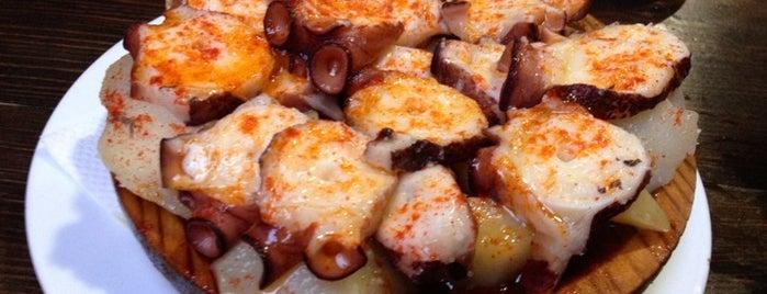 A Taberna de Cunqueiro is one of De mucho us.