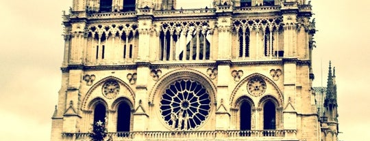 Cathedral of Notre Dame de Paris is one of 行ったことがあるのにチェックインしてない場所.