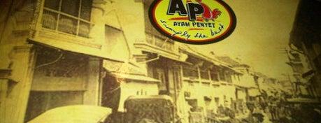 Restoran Ayam Penyet AP is one of NFS Lepaking Tour.