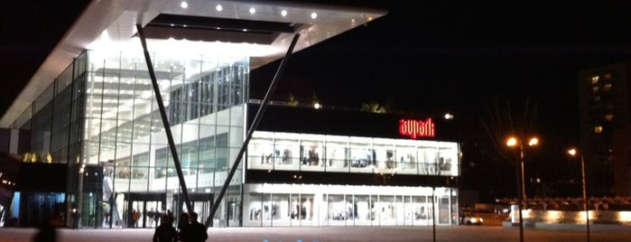Aupark Shopping Center is one of MALLS/SHOPPING CENTERS in Slovakia.