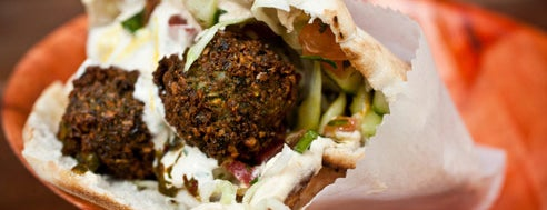 Taïm Falafel and Smoothie Bar is one of #100best dishes and drinks 2011.