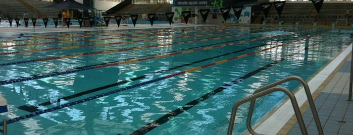 Adelaide Aquatic Centre is one of Places.