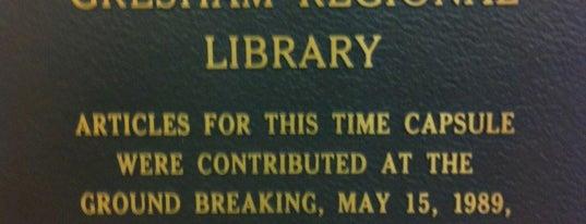 Multnomah County Library - Gresham is one of Multnomah County Libraries.