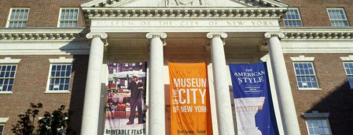 Museum of the City of New York is one of Gray Line New York's Uptown Loop.