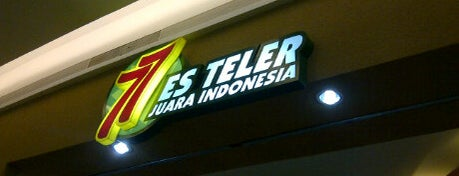 Es Teler 77 is one of Trans Studio Mall Makassar.