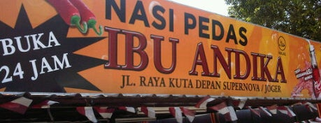 """Nasi Pedas Ibu Andika is one of Bali """"Jaan"""" Culinary."""