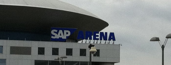 SAP-Arena is one of Mannheim And More.