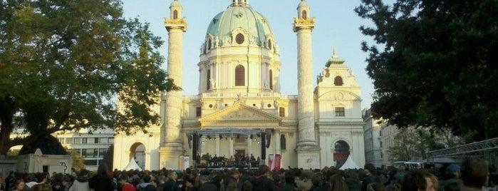 Karlsplatz is one of Vienna tips.