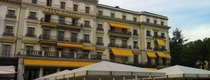Café Beau-Rivage is one of Top Picks for Foodies in Vaud, Switzerland.