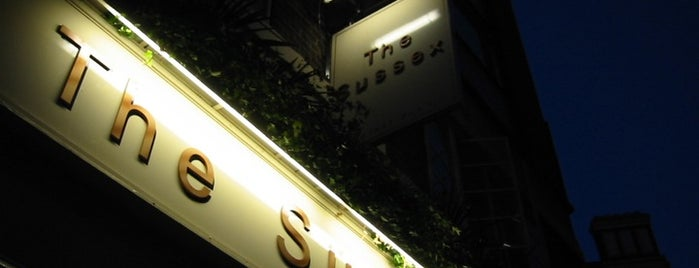 The Sussex (Taylor Walker) is one of London as a local.