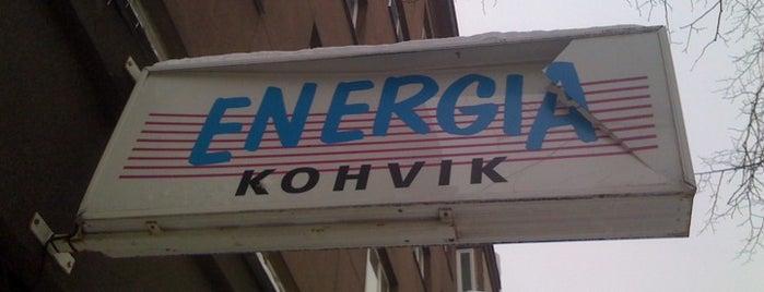 Kohvik Energia is one of The Barman's bars in Tallinn.