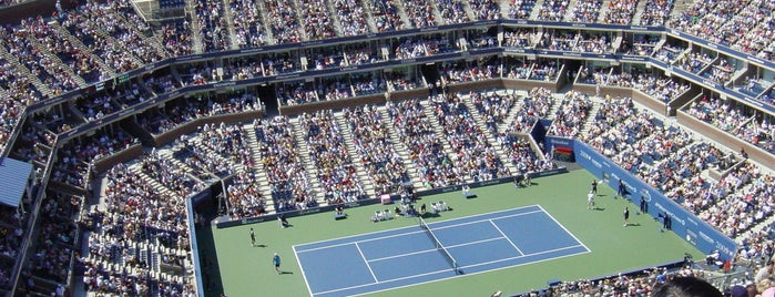 Arthur Ashe Stadium is one of Coolest Things!.