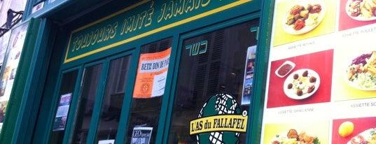 L'As du Fallafel is one of 100 choses à faire à Paris.