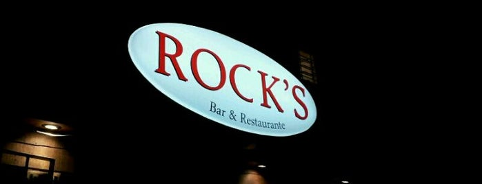 Rocks Bar & Restaurante is one of Favoritos - Comidas & Lanches.