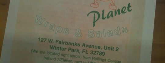 Wrap Planet is one of My favorite noms to om in Orlando.