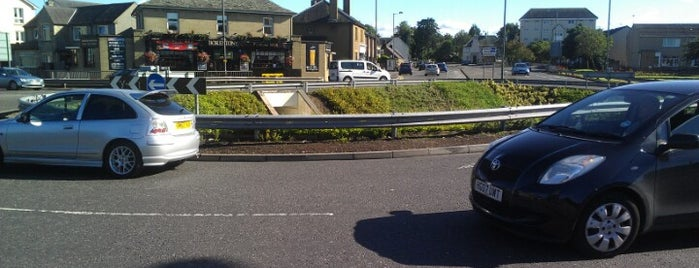 St. Ninians Roundabout is one of Named Roundabouts in Central Scotland.