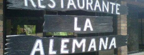 Restaurante La Alemana is one of Restaurantes.