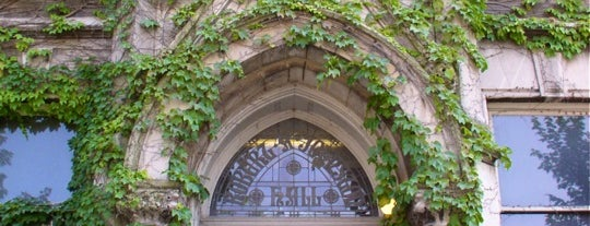 Johnston Hall is one of Follow Marquette University history.