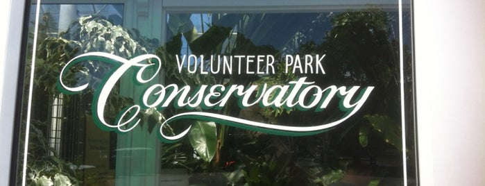 Volunteer Park Conservatory is one of Seattle's 400+ Parks [Part 1].