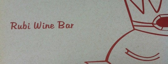 Rubi Wine Bar is one of Bares perto de casa..