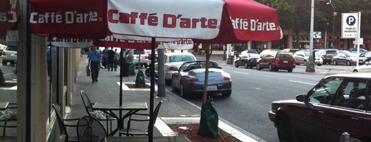 Caffe D'Arte is one of Rata's Seattle Coffee Trip - A Coffee Crawl!.