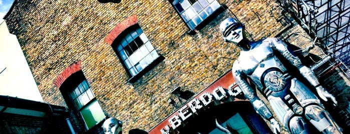 Cyberdog is one of The Fashionista's Guide to London, UK.