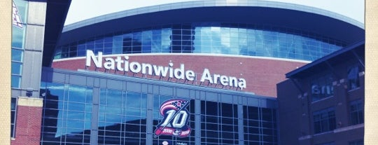 Nationwide Arena is one of NHL Hockey Arenas.