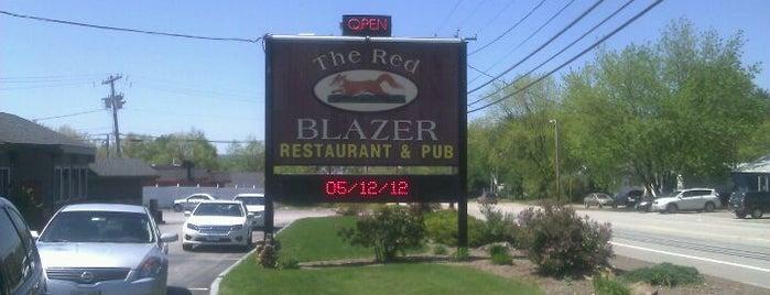 The Red Blazer Restaurant & Pub is one of Restaurants visited.